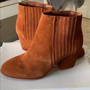 Cognac Suède Boots
